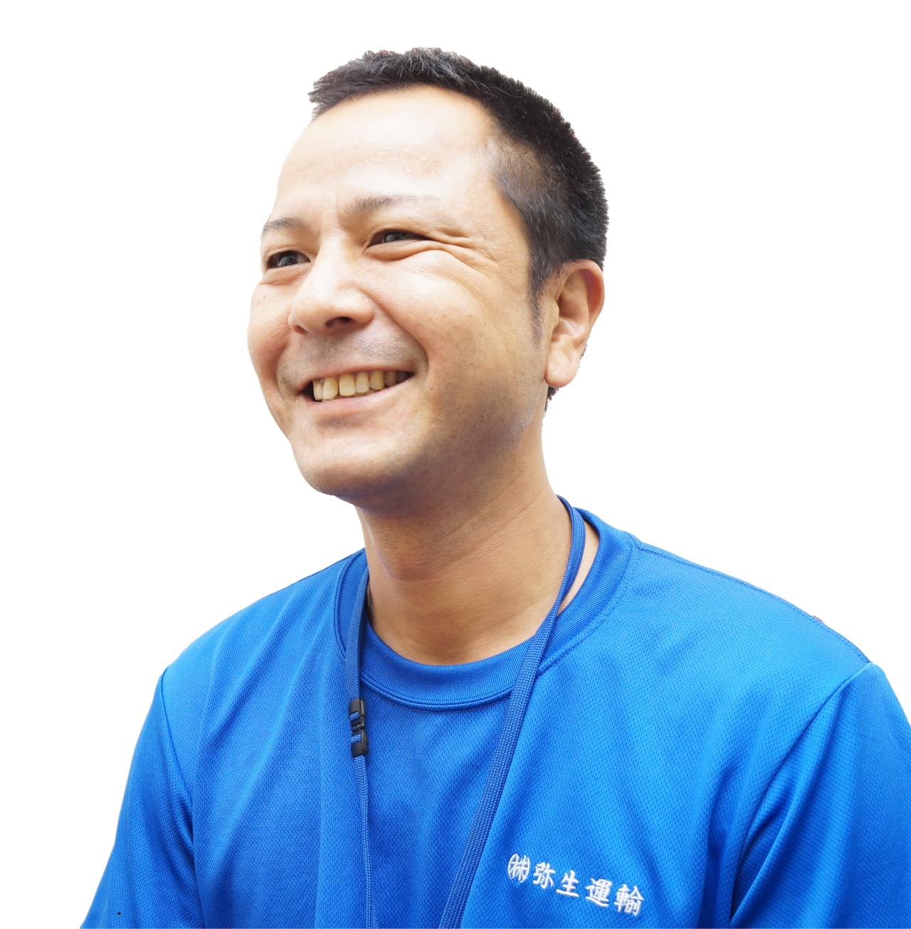 弥生運輸 トラック 運転手 インタビュー1